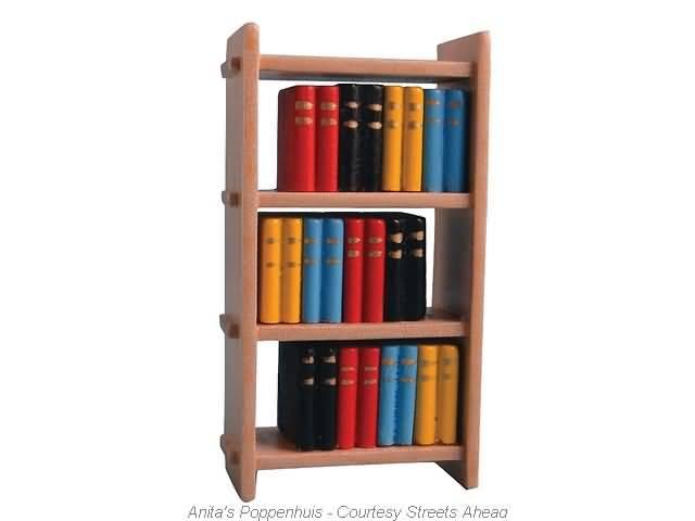 Kleine Boekenkast met Boeken